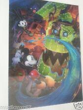 SDCC Comic Con 2014 Handout Disney Mickey Mouse 3D Lenticular card / print