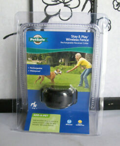 Pet Safe PIF00-14288 Stay + Play Wireless Fence Receiver Rechargeable Collar