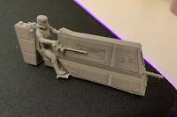 C-PH Patrol Bike Imperial Stormtrooper (Star Wars Legion) 3D - 1ST CLASS P&P