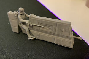 C-PH Patrol Bike Vehicle Imperial Stormtrooper Solo Movie (Star Wars Legion) 3D