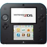 Nintendo 2DS Mario Kart 7 Limited Edition 4GB Electric Blue Console- Open Box