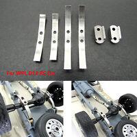 Metallverdicktes Hinterachs Blattfeder Kit für WPL D12 RC Car Leaf Spring Set