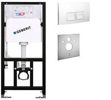 WC - Element  mit Spülkasten Geberit  Vorwandelement  mit Plate Delta 50