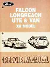 Ford Falcon Longreach XR6 Ute & Van XH 1996-1999 Factory Repair Workshop Manual