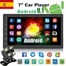 "7"" Autoradio 2 Din Android GPS Navi Bluetooth Pantalla táctil Wifi MP5 +Cámara"