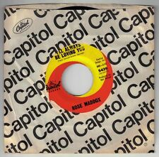 MADDOX, Rose  (I'll Always Be Loving You)  Capitol 5439