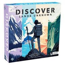 Discover Lands Unknown Board Game Fantasy Flight Games FFGDSC01 Survival Explore