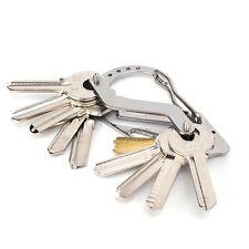 Chain Ring Creative Keyring Keychain Keyfob Fashion Quickdraw Men Metal Car Keys