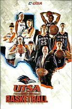 2017-18 UTSA Roadrunners - Men's & Women's College Basketball Game Program