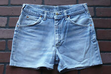 "Vintage Lee Riders Men's 30"" Waist Distressed Faded Blue Denim Shorts ~ USA"