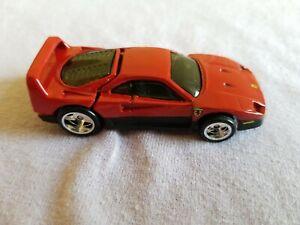 2012 Hot Wheels Boulevard FERRARI F40 Red LOOSE Read description