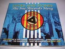 Various Artists - Sticks & Stones (The Sue Records Story, 2013) CD X 2