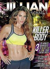 JILLIAN MICHAELS - KILLER BODY WORKOUT  -  DVD - UK Compatible - New & sealed