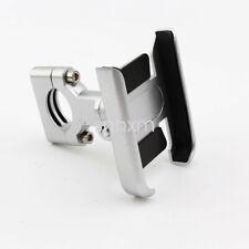 Silver Aliminum Motorcycle Handlebar Phone Holder For Harley Davidson Touring