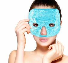 Hot Cold Therapy Gel Bead Facial Eye Mask by FOMI Care | Migraine Headache