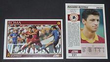 221 RIZZITELLI AS ROMA FOOTBALL CARD 92 1991-1992 CALCIO ITALIA SERIE A