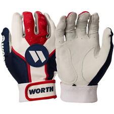 new Worth Team Batting Gloves GREEN MEDIUM