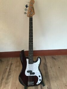 Westfield Bass Guitar, P-Bass style, new strings, y/tube, free p+p