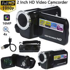 FULL HD 1080P 16MP 2 Inch LCD 4X ZOOM Handheld Digital Video DV Camera Camcorder