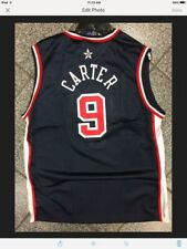 Youth Small New NWT Vintage Champion Team USA Vince Carter Jersey Boys VTG