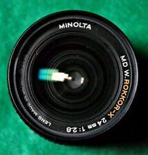 Minolta 24mm f/2.8 Lens ~ MD Rokkor-X. Nicely Price