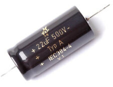 F&T Capacitor - 22uF 500V Type A - Axial Lead - SUPERB AUDIO - FAST US SHIPPER