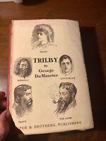 Trilby George du Maurier 1922 Illustrated Svengali Horror Victorian Jacket Gift