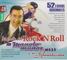 Manolo Munoz Disfruta Del Rock N Roll y su Romanticismo Vol,4,5,6 Box set New