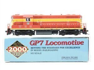 HO Scale Proto 2000 23016 FEC Florida East Coast GP7 Diesel Locomotive #608