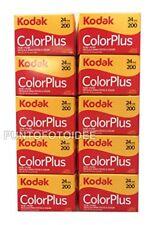 10rolls Kodak Color Plus 35mm 20024pack of 10pz. Film Photography
