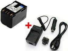 BN-V416 Battery & Charger For JVC GY-HD100 GY-HD100U GY-HD110 GY-HD110U GY-HD111