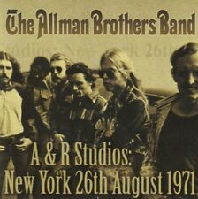 A & R Studios New York [ LIVE MASTERED CD ] Aug. 1971 The Allman Brothers Band