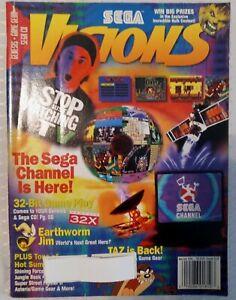 SEGA Visions Magazine Issue June/July 1994