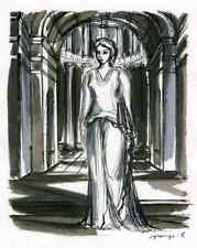 TITUS & BERENICE-Jacques Grange - 2 Grisaille-gravures 1947