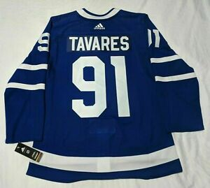 Men's Toronto Maple Leafs John Tavares adidas Blue Authentic Player - Jersey