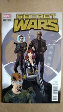 Secret Wars #2 First Print Kevin Nowlan Variant Marvel (2015) Black Widow