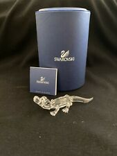 New ListingSwarovski Crystal Figurine Mini Alligator Brand New In Box With Certificate.