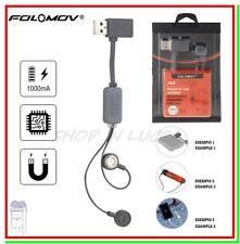 caricabatterie usb Folomov A1 x pile litio 18650 21700 26650 funzione power bank