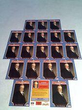 *****James Buchanan*****  Lot of 20 cards / 1992 Starline Americana