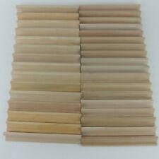 33 Scrabble Wood Racks Tile Letter Holders Replacement Parts Crafts Wooden S3