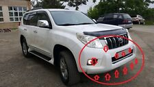 ABS Front Bumper Grille Push Bar Protection For Toyota Prado FJ150 2008-2012