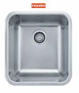 """Franke GDX11015 Undermount Sink Stainless Steel 18-3/4"""" x 16-3/4"""" x 9"""" 18 Gauge"""