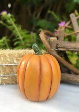 Miniature Dollhouse FAIRY GARDEN ~ Mini Fall HALLOWEEN Tall Pumpkin