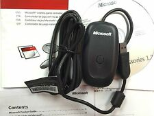 Official Genuine Microsoft Xbox 360 Wireless Gaming PC Receiver- Black UK Seller