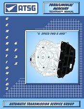 6F35 ATSG Rebuild Manual Transmission Overhaul Guide Book Ford Lincoln Mercury