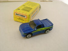 1995 MATCHBOX SUPERFAST MB 13 THE BUSTER PICKUP TRUCK NEW IN BOX