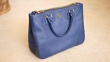 Tory Burch - Blue Robinson Saffiano Leather Work / Handbag- Excellent Condition