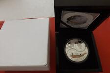 RARO! Fiji 2 x 1 dollari 2011 Argento PP (2x1 oz.999) * year of the Rabbit