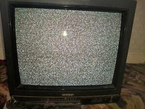Sharp CV 2131H CRT Gaming Tv 20 inch