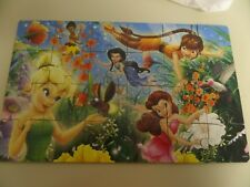 LOT OF 4 PRINCESS  PUZZLE AND WOOD CASE